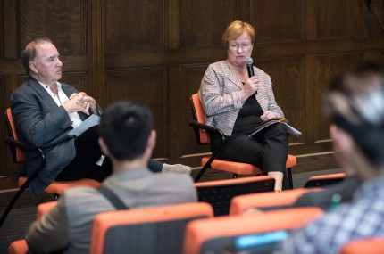 Image for A Conversation with Tarja Halonen