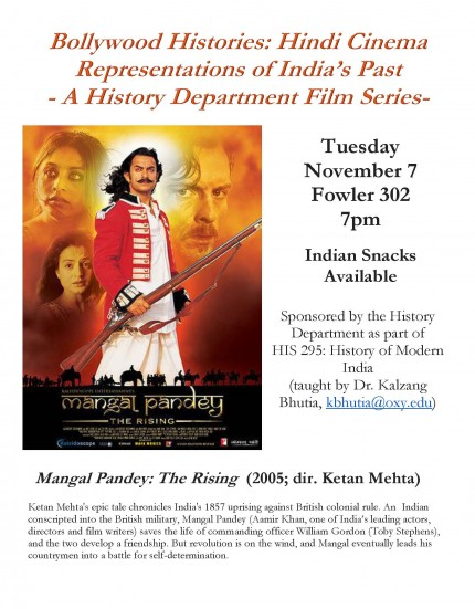 "Image for HIST 295 Film Series: ""Mangal Pandey: The Rising"""