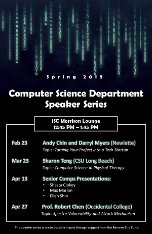 Image for Computer Science Speaker Series