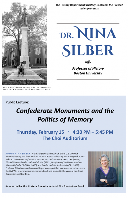 Image for Confederate Monuments and the Politics of Memory - Lecture
