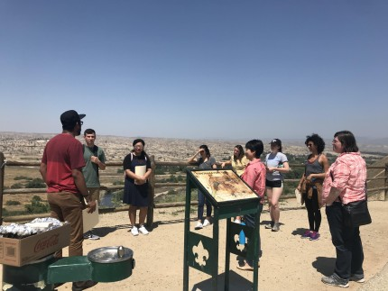 Image for Climate Justice Students Toured Oil Fields and Toxic Sites