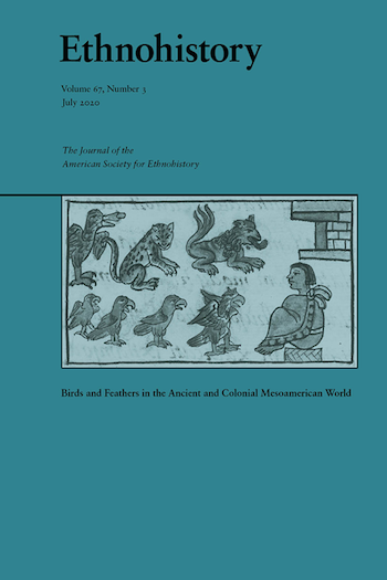Cover of Ethnohistory special issue