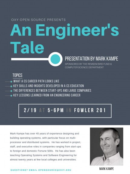 An Engineer's Tale with Mark Kampe | Occidental College