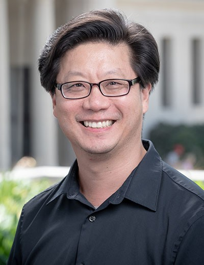 Director of Insturmental Activities, Chris Kim