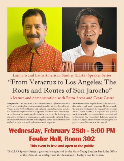 Poster for Son Jarocho event