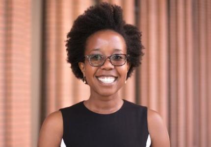 Prof. Kelly Zvobgo pictured