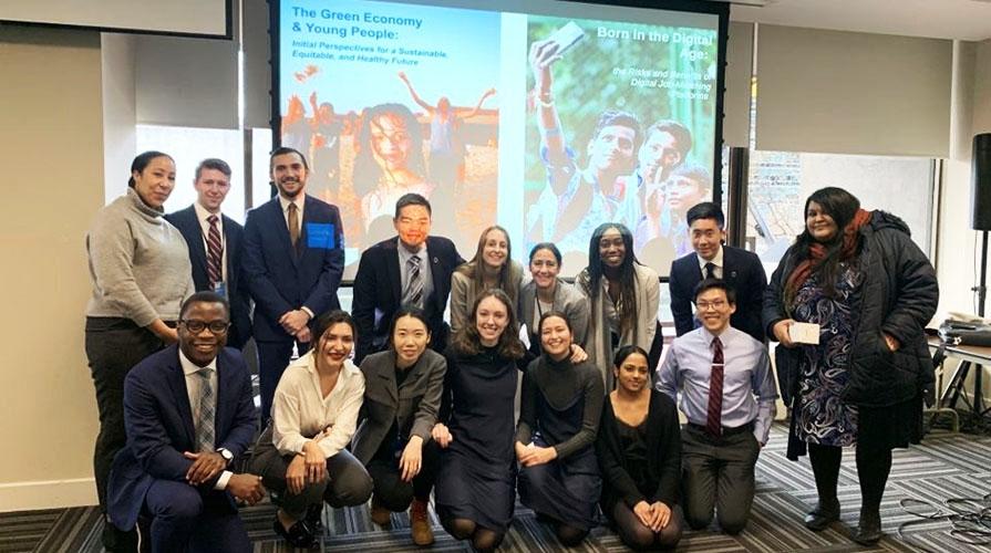 Kahane UN program participants