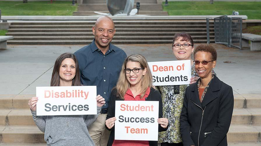 The Student Affairs and Disability Services team