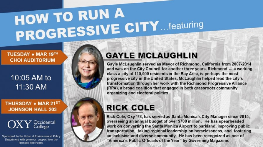 How to Run a Progressive City