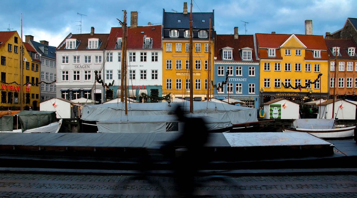 A street view of Copenhagen