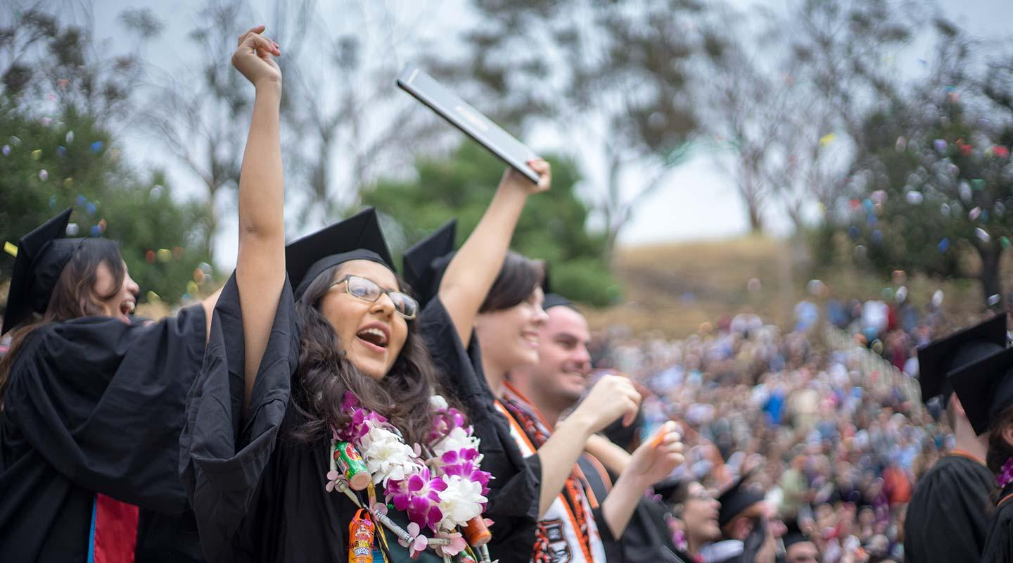 Occidental College Commencement ceremony for the class of 2016