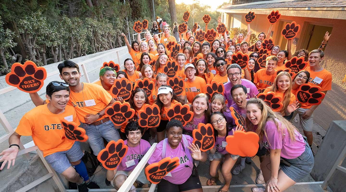 Orientation Team welcomes new Oxy students