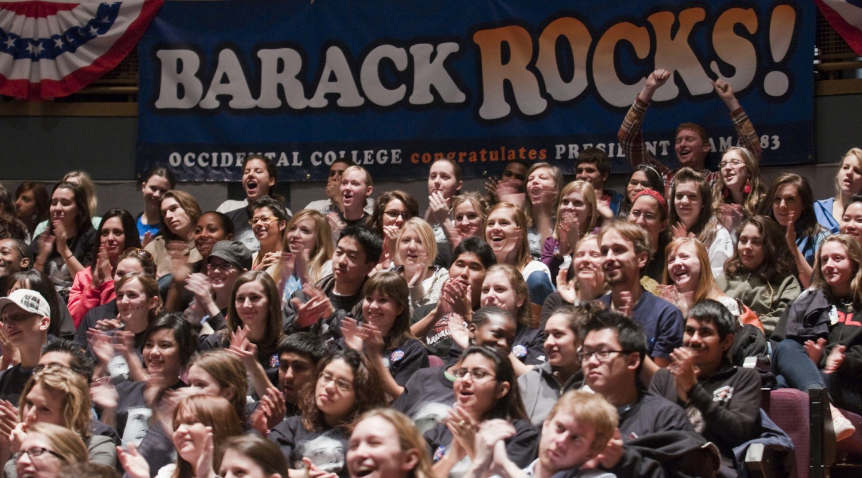 Obama inauguration Occidental College