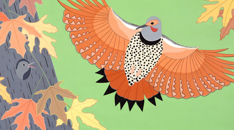 Bird Show, Susan Stockdale
