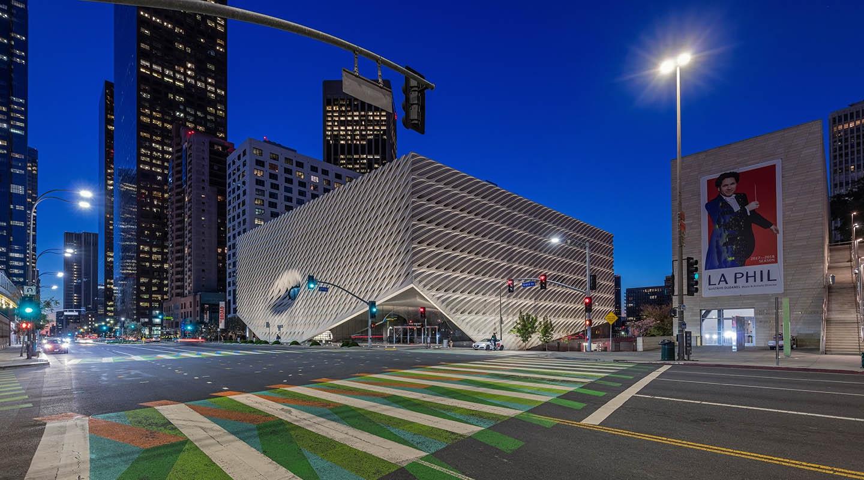 Downtown LA arts scene