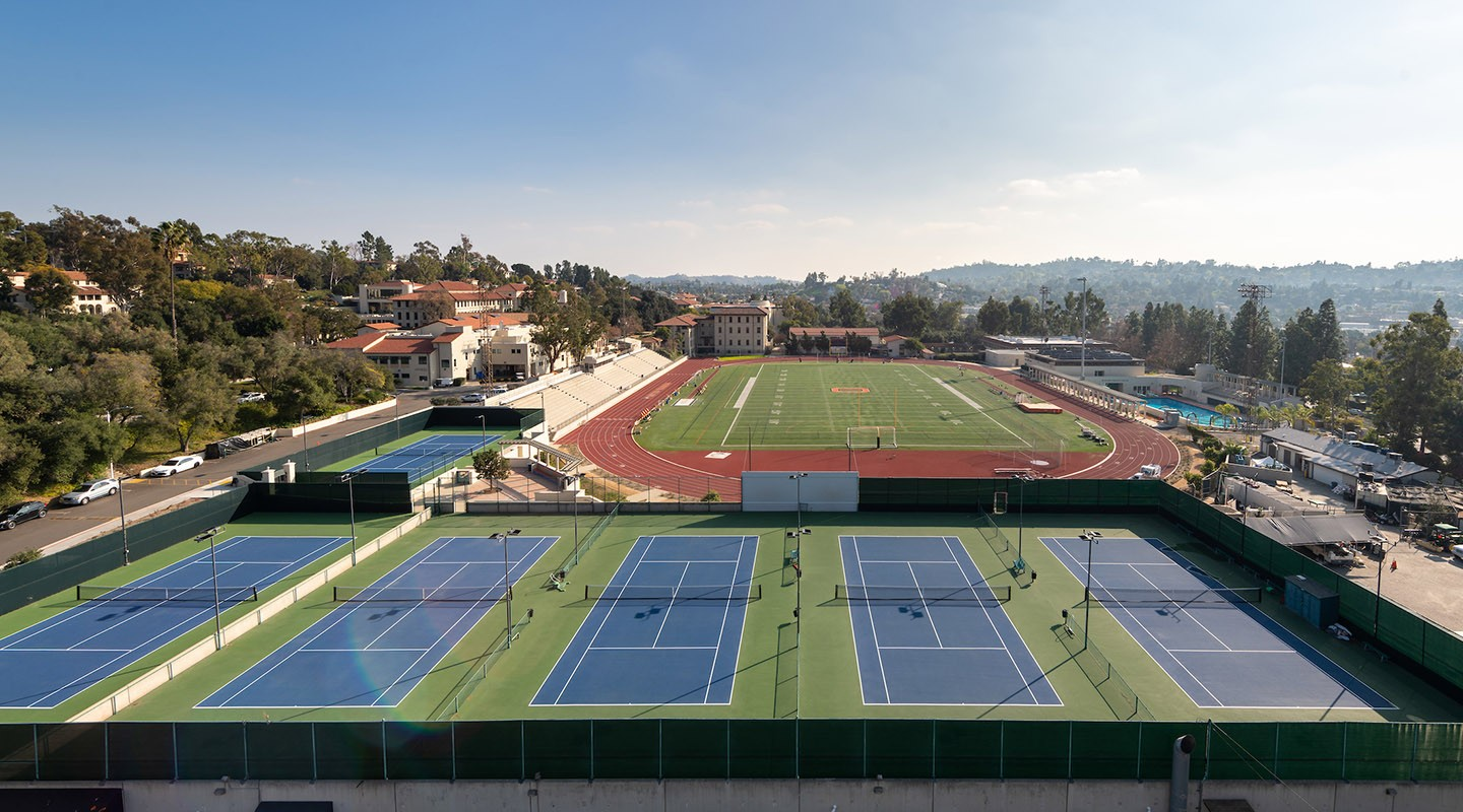 New McKinnon Center tennis courts