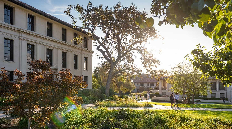 Oxy's beautiful campus