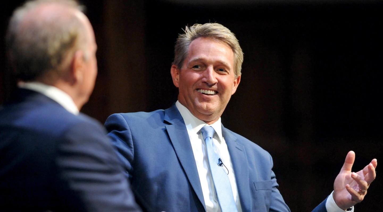 Former U.S. Senator Jeff Flake (R-Ariz.)