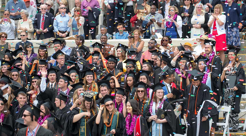 Graduation scenes