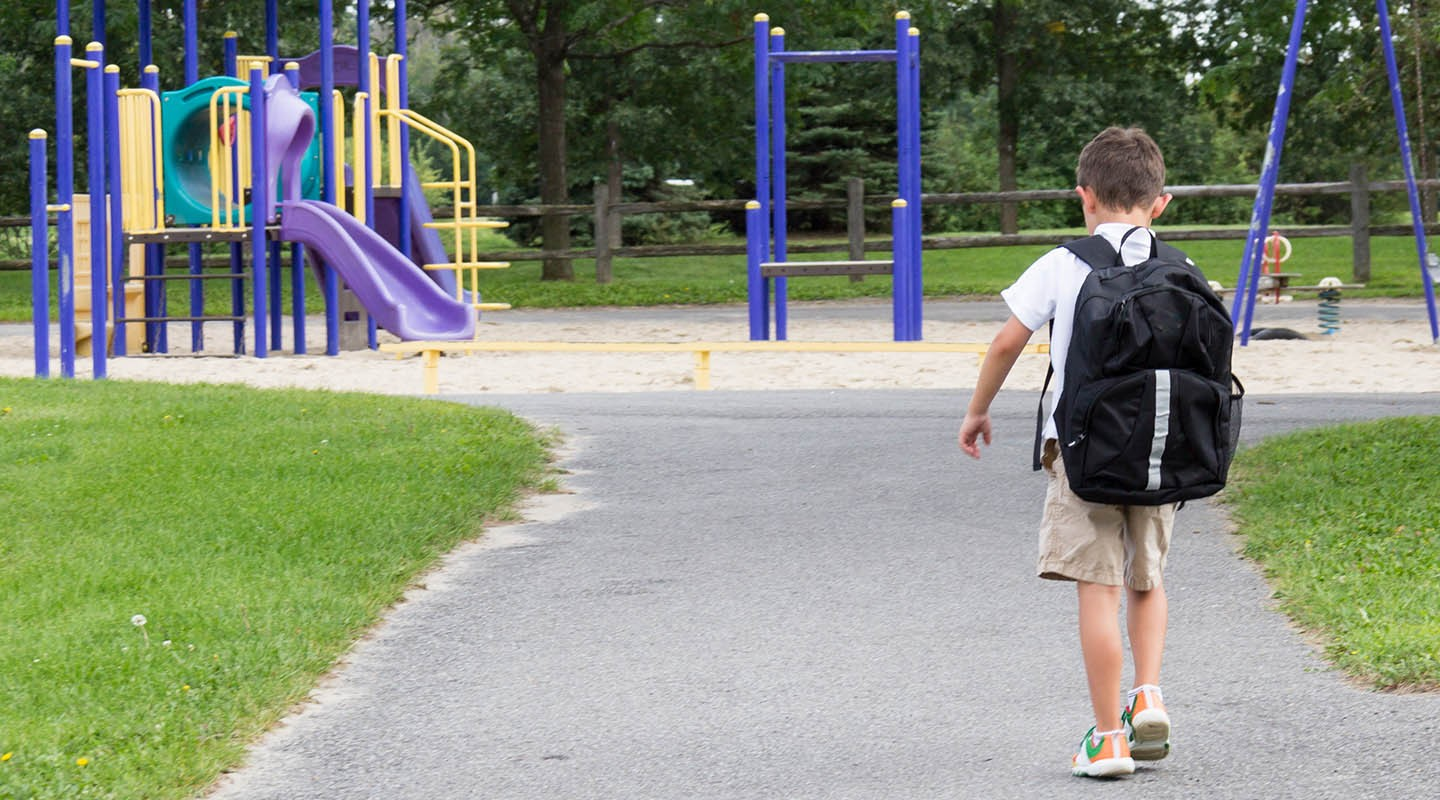 Greening school playgrounds means more student exercise, less conflict