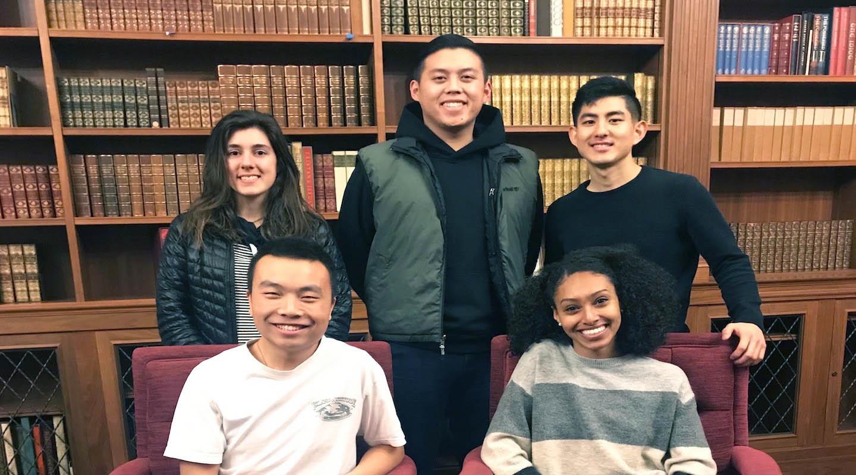 Oxy's 2019 science scholars