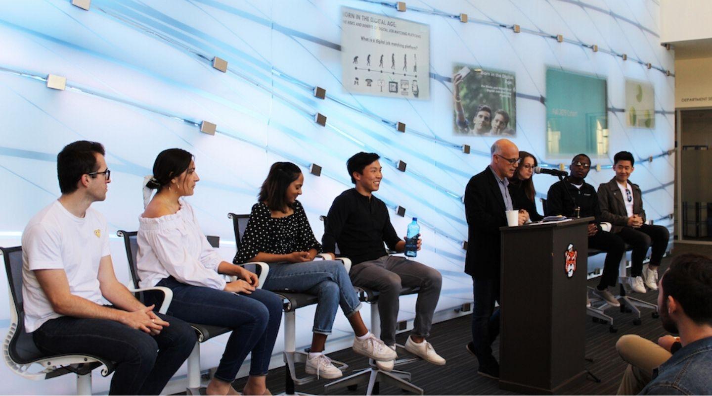 Oxy UN Week Student Panel (photo Amirah Al-Sagr/The Occidental)