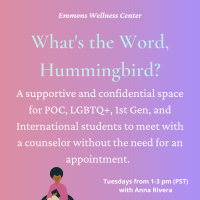 What's the Word, Hummingbird? Poster