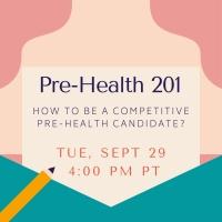 Pre-Health 201 Tue Sept 29