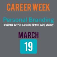 Career Week Personal Branding graphic