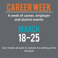 career week flyer