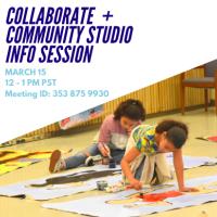 Collaborate + Community Studio Fall 2021 Info Session
