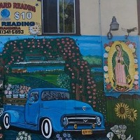 Mural in Highland Park