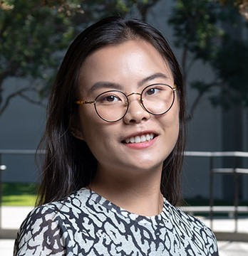 Cognitive science major Sally Zhou