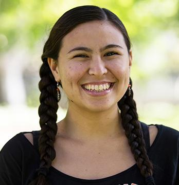 Oxy student Jocelyn Guzman