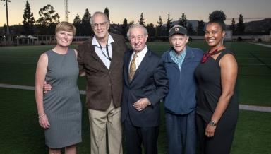 Occidental Athletics Hall of Fame, Shanda Ness, Ron Whitney, Bob Risley, Murray Via, Jackie Provost