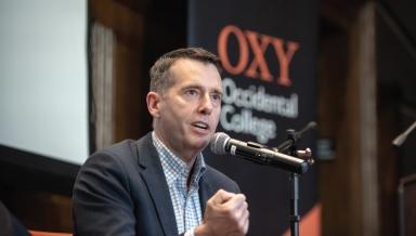 David Plouffe Obama Scholars Speaker
