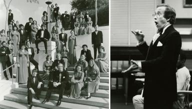 Tom Somerville, Occidental Glee Club