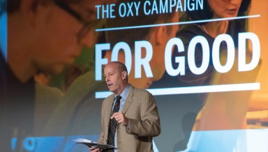 President Jonathan Veitch, The Oxy Campaign for Good