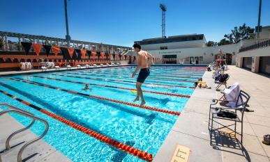 Oxy Athletics, aquatics center