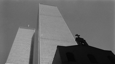The Twin Towers in NYC, pre 9/11