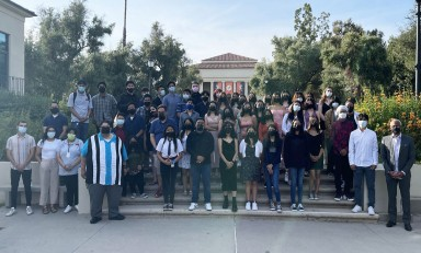 Occidental College's Summer 2021 Upward Bound scholars
