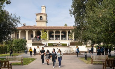 Johnson Student Center at Occidental College
