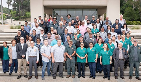 Oxy's facilities management staff