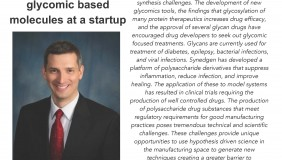 Image for Christopher Ryan: Drug manufacture of glycomic based molecules at a startup