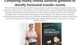 """Image for Eliot Bush, Harvey Mudd, """"Comparing closely related bacterial genomes to identify horizontal transfer events"""""""