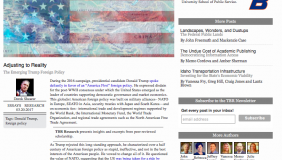 Image for New article by Amb. Derek Shearer