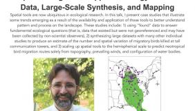 Image for Travis Longcore: Spatial Insights for Applied Ecology: Found Data, Large-Scale Synthesis, and Mapping