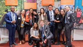 Members of the G15 at the Occidental College Campaign New York Launch Event.