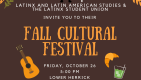 Poster for Fall Cultural Festival