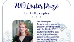 Poster for Lauter Prize